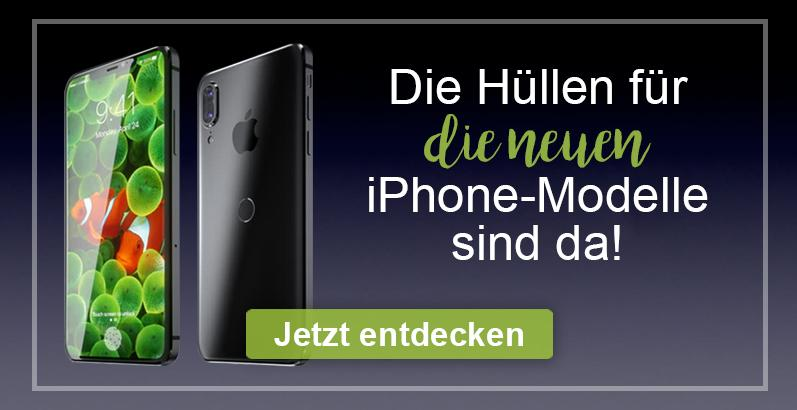 iPhone 8/8 Plus und iPhone X - Die neuen Hüllen für die neuen Apple Superhandys sind da