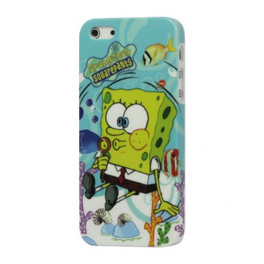 iPhone SE/5S/5 Spongebob Hart Plastik Case