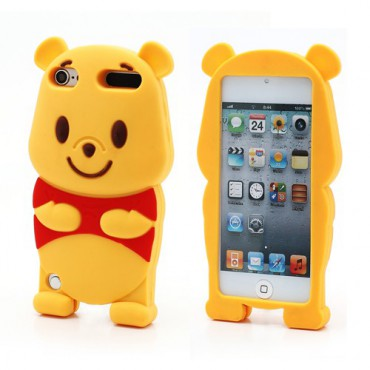 iPod Touch 5/6 3D Winnie Pooh Silikon Case