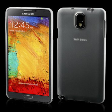 Samsung Galaxy Note 3 Ultradünnes Hart Plastik Case - weiss