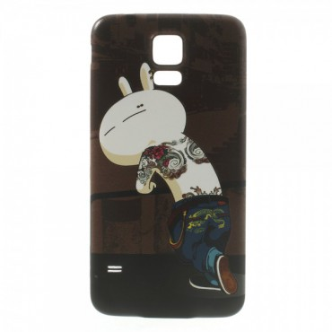 Samsung Galaxy S5 Backcover Frecher Hase