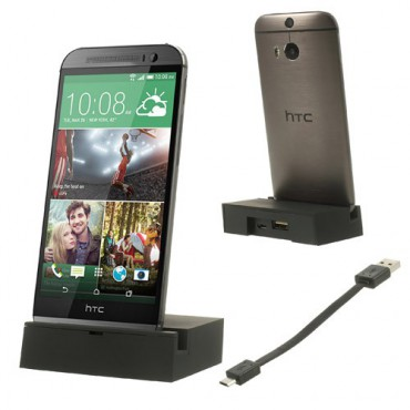 HTC One (M8) Dockingstation - schwarz