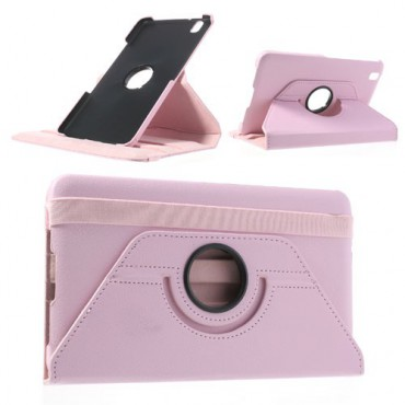 Samsung Galaxy Tab Pro 8.4 (T320/T321/T325) Leder Case mit Litchimuster - pink