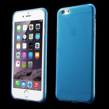 iPhone 6 Plus/6S Plus Elastisches Anti-Staub Plastik Case - blau