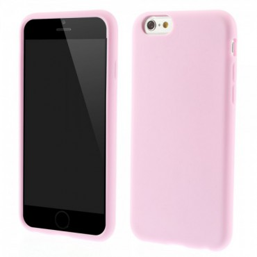 iPhone 6/6S Weiches Silikon Case - pink