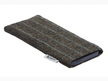 "Galaxy S5 Mini Designerstoff Case Pajass Squeeze ""City-Tweed"""