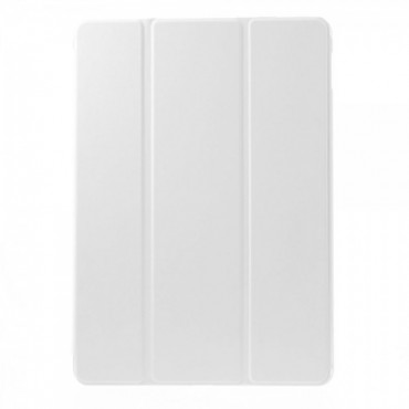 iPad Air 2 Leder Flip Cover mit Standfunktion - weiss