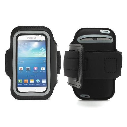 sport armband case f rs samsung galaxy s4 mini schwarz. Black Bedroom Furniture Sets. Home Design Ideas
