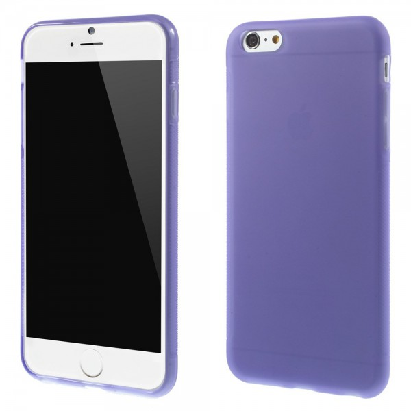 iPhone 6 Plus/6S Plus Elastisches Anti-Rutsch Plastik Case - hellpurpur
