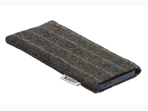 "Pajass Huawei Ascend G6 Designerstoff Case Pajass Squeeze ""City-Tweed"""